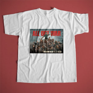 Polera Walking dead All out War