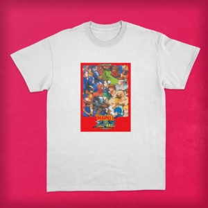 Polera Marvel vs Capcom