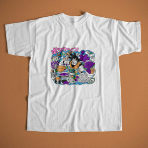 polera-happy-days-manga-color-dragon-ball-goku-comida-feliz-adulto